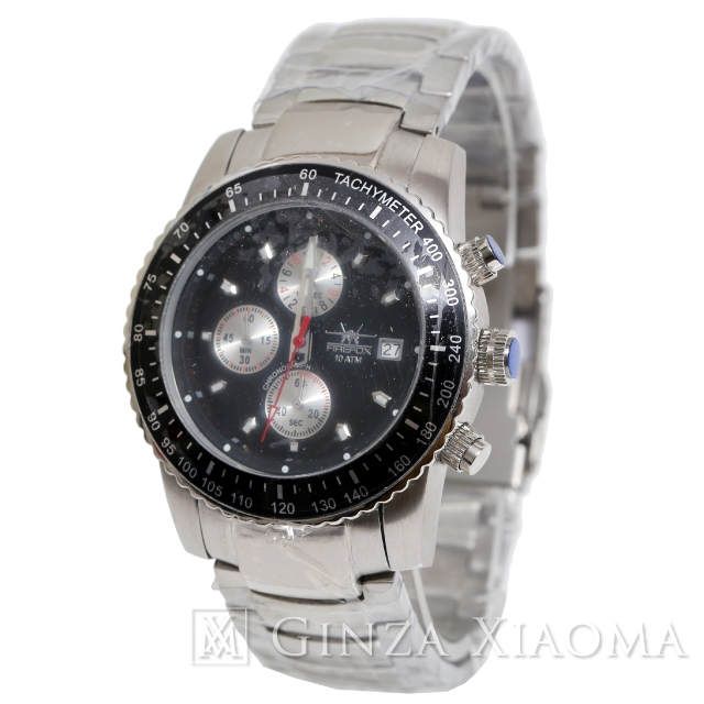 【未使用】FIREFOX ファイヤーフォックス クロノ FFS18 腕時計 メンズウォッチ クォーツ mns