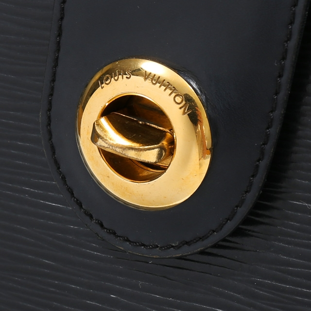 28d8eb2cabce Auth Louis Vuitton LV Cluny epi Noir Gold Hardware shoulder bags M52252  (Used)