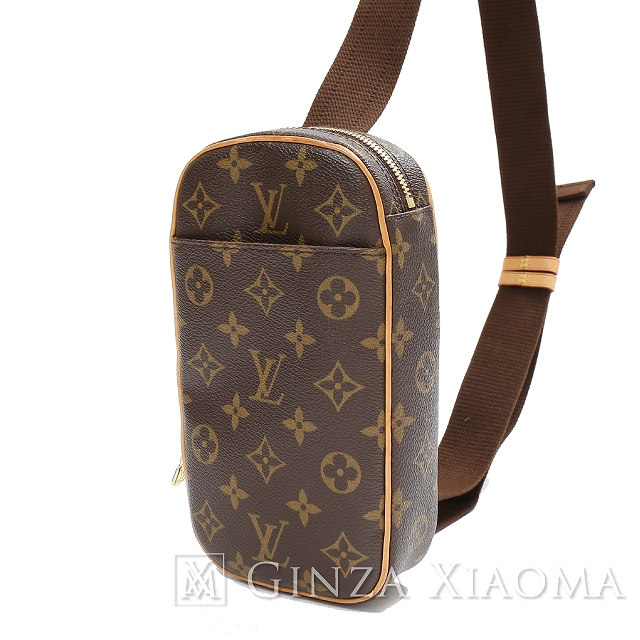 22c3a5359783 Auth LOUIS VUITTON LV lv Monogram Pochette Gange Cross Body Bag M51870   Used