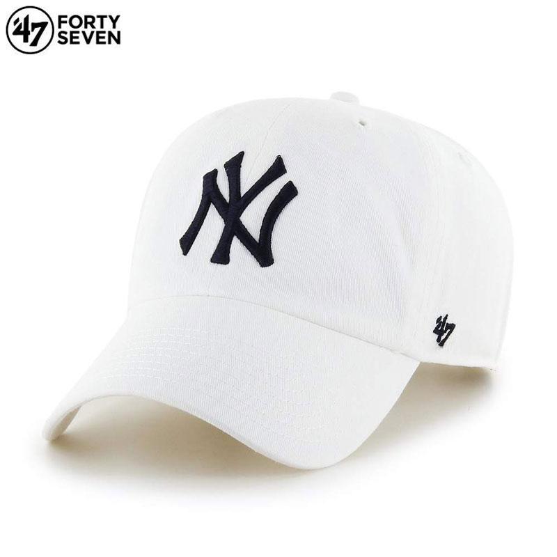 市場 キャップ 新作製品 世界最高品質人気 ローキャップ クリーンナップ MLB メジャーリーグキャップ 春夏秋冬用 フォーティーセブン 47BRAND 47キャップ 帽子 ベースボール 47 BRAND ヤンキース 大きいサイズ CLEAN ブランド メンズ おしゃれ 47ブランド かっこいい 人気 レディース ホワイト UP