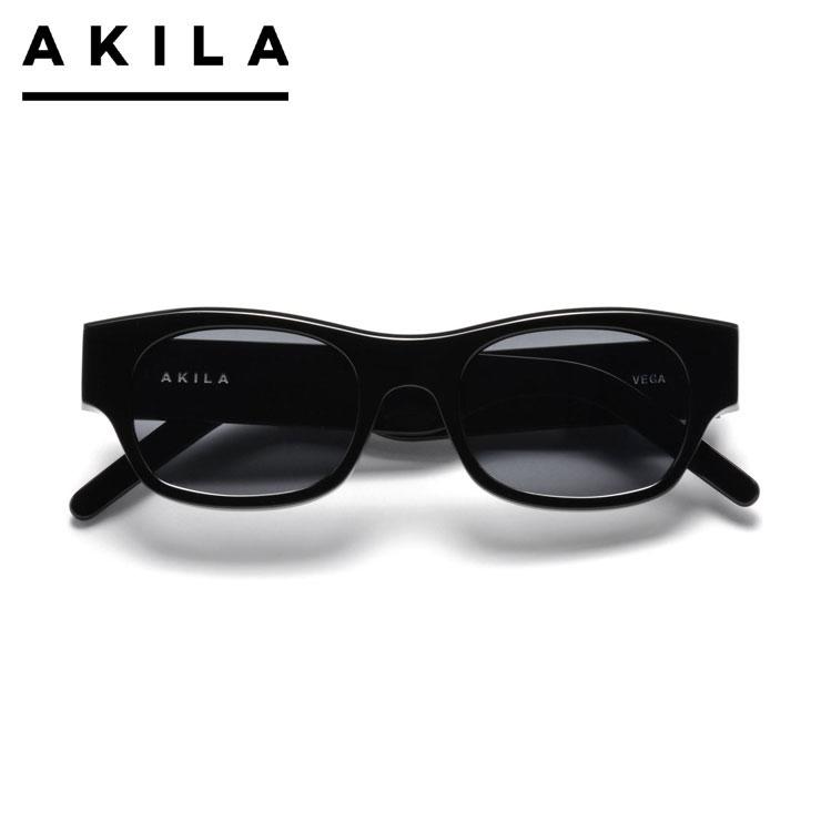 【スーパーSALE 10%OFFクーポン対象商品!】【SALE】AKILA アキラ サングラス AKILA VEGA A 1803 01 01 BLACK アイウェア 眼鏡 ブラック ONE SIZE