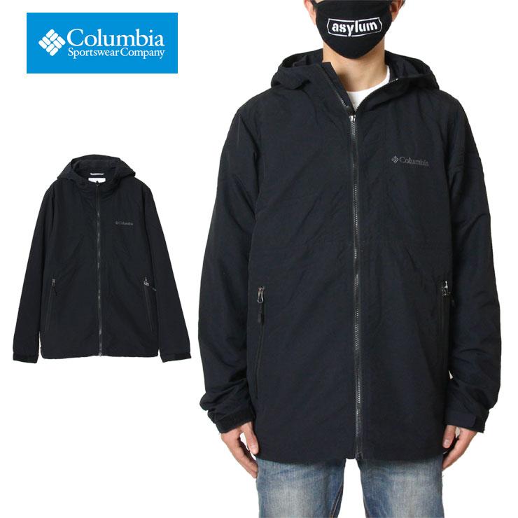 【スーパーSALE 10%OFFクーポン対象商品!】コロンビア COLUMBIA パーカー マウンテンパーカー メンズ レディース ブランド おしゃれ かっこいい 大きいサイズ ヘイゼンジャケット PM3749 ブラック M L XL