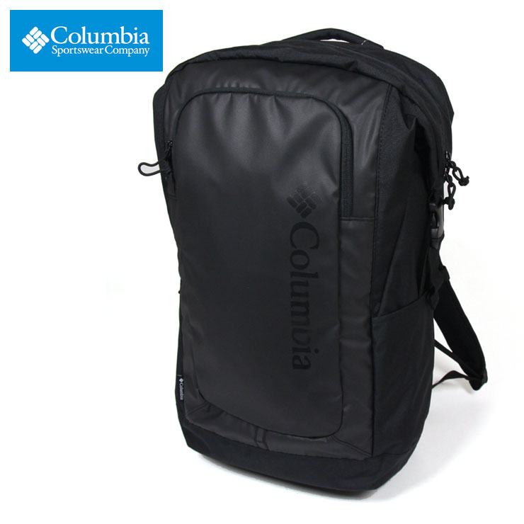 コロンビア リュック 大容量 COLUMBIA バックパック 通勤 通学 防水 多機能 メンズ レディース アウトドア ブランド 大人 おしゃれ おすすめ サードブラフS 33L バックパック PU8458 ブラック