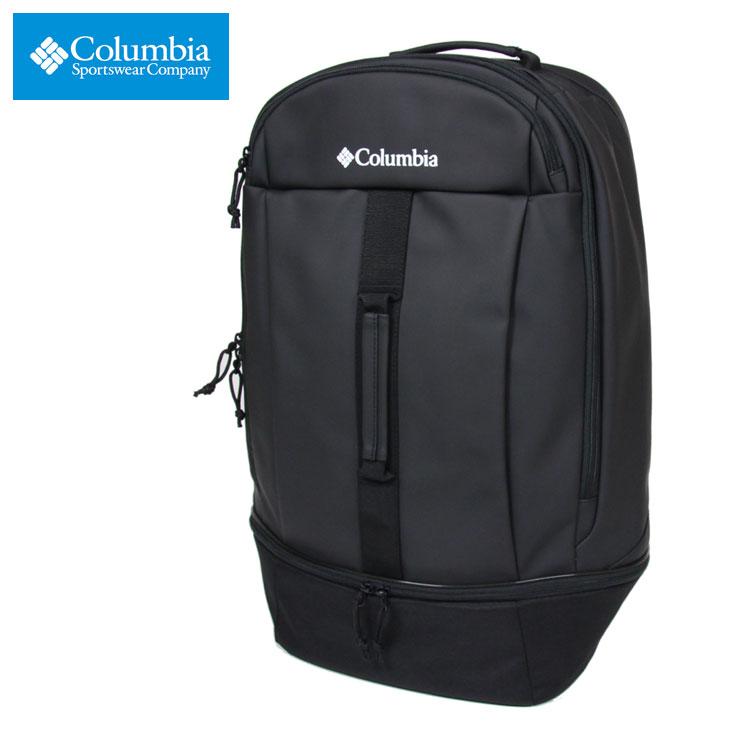 コロンビア リュック 大容量 COLUMBIA バックパック リュックサック 通勤 通学 防水 多機能 メンズ レディース アウトドア ブランド 大人 おしゃれ おすすめ ブレムナースロープ35L バックパック PU8419 ブラック