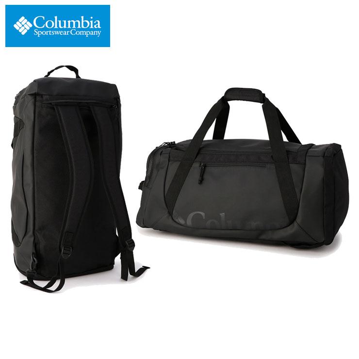 コロンビア リュック 大容量 COLUMBIA バックパック ダッフルバッグ ボストンバッグ 通勤 通学 防水 多機能 メンズ レディース アウトドア ブランド おしゃれ おすすめ ブレムナースロープ 40L ダッフル PU8418 ブラック
