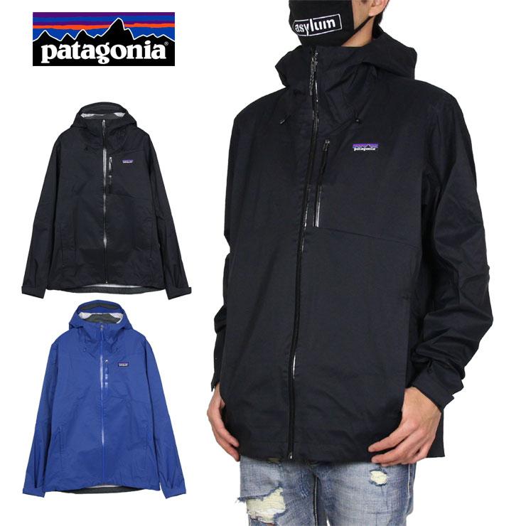【スーパーSALE 10%OFFクーポン対象商品!】パタゴニア PATAGONIA ジャケット ナイロンジャケット マウンテンパーカー アウトドア 防水 かっこいい お洒落 メンズ レディース ブランド 大きいサイズ M's RAINSHADOW 3L JKT 85115 ブラック ブルー S M L