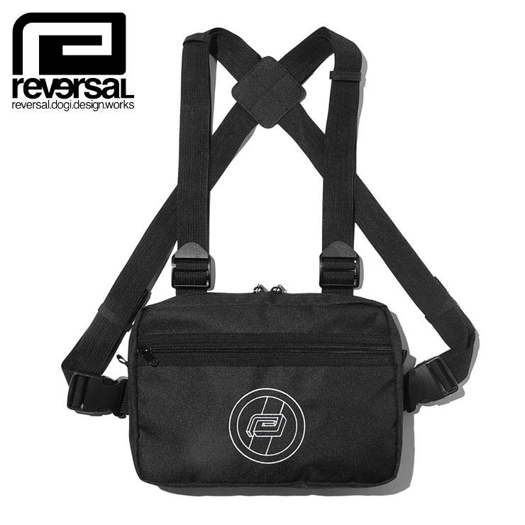 【スーパーSALE 10%OFFクーポン対象商品!】REVERSAL リバーサル チェストバッグ BSS CHEST BAG rv19aw029 ボディバッグ 登山 リュック ブラック ONE SIZE