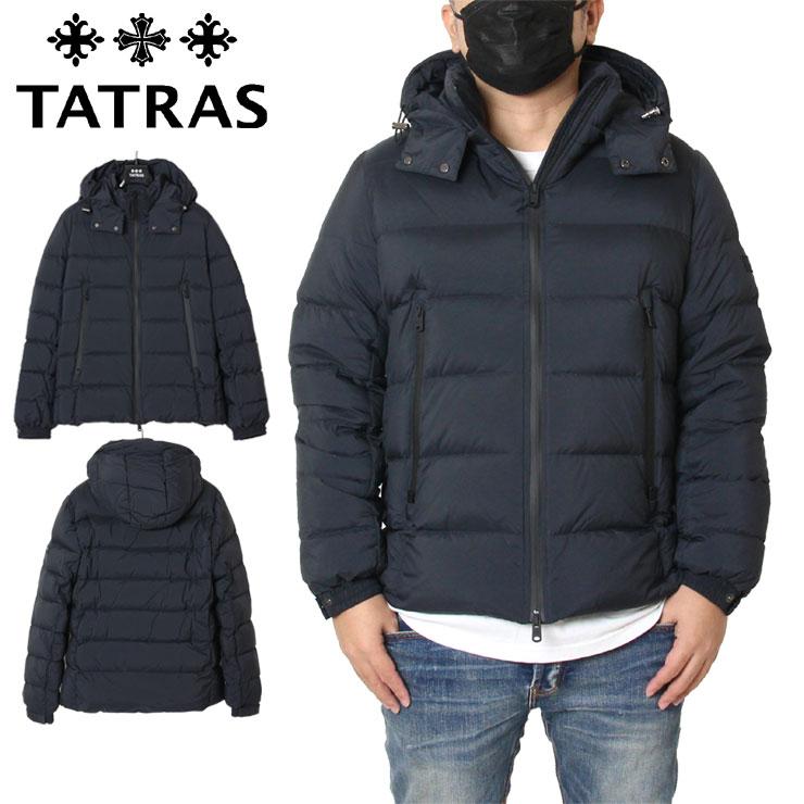 【スーパーSALE 10%OFFクーポン対象商品!】【SALE】タトラス TATRAS ダウンジャケット ホワイトグース メンズ レディース 大きいサイズ BORBORE MTA4568 BLACK ブラック M(2) M(2) L(3) XXL(5)