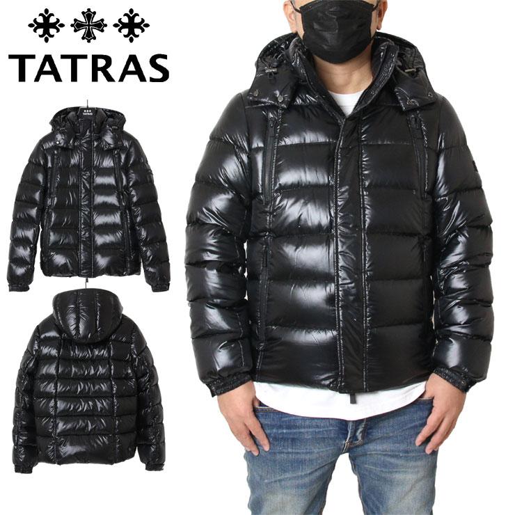 【スーパーSALE 10%OFFクーポン対象商品!】【SALE】タトラス TATRAS ダウンジャケット ホワイトグース メンズ レディース 大きいサイズ DIOMEDE MTA4563 ブラック M(2) L(3) XL(4) XXL(5)