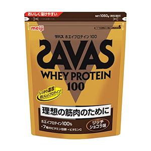ザバス ホエイプロテイン100 リッチショコラ 1,050g(約50食分)[配送区分:A]