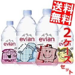 Japanese wisteria Park evian Evian 750 mlPET 24 bottles (12 × 2 case) Mr.Men Little Miss label [mineral] * Hokkaido, Okinawa and remote islands are not eligible 02p03ec16