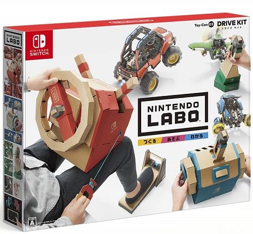 2018年9月14日発売 新品 未使用 未開封 Switch Nintendo Kit Drive ◆セール特価品◆ Labo Toy-Con 新作多数 03: