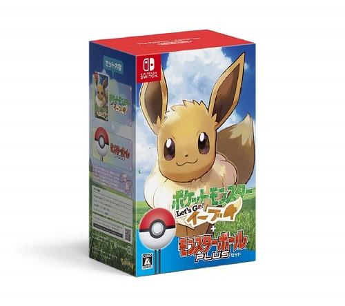 Nintendo Switch ポケットモンスター Let's Go! イーブイ モンスターボール Plusセット