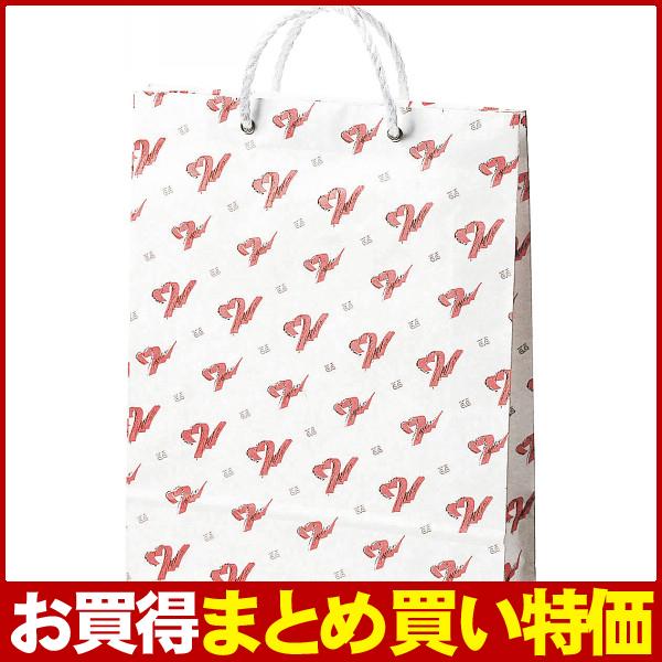 箱買い特価☆業務用・イベント・販促ツールに♪【E】オリジナルペーパーバッグ(大) 62660GGE【100個セット】