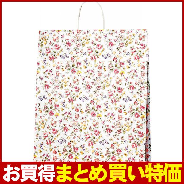 箱買い特価☆業務用・イベント・販促ツールに♪【E】紙袋 ロマネスク(L) #3282600【200個セット】