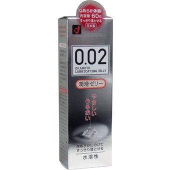 【送料込】オカモト ゼロゼロツー 002 潤滑ゼリー 60g 無臭・無色透明 簡単に洗い流せる水溶性ローション×100点セット まとめ買い特価!ケース販売 ( 4547691730985 )