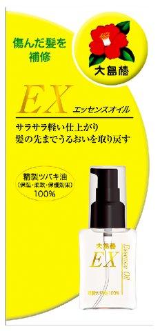 【送料込】大島椿EX エッセンスオイル40ml 透明・無臭の精製ツバキ油100%のヘアオイル×24点セット まとめ買い特価!ケース販売 ( 4970170140119 )