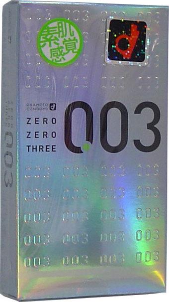 【送料込・まとめ買い×144】オカモト 003 ゼロゼロスリー 12個入×144点セット ( コンドーム・避妊具 )  まとめ買い特価!ケース販売 ( 4970520232358 )