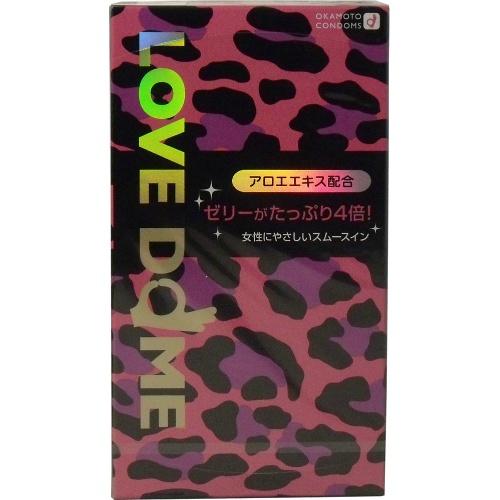 【送料無料】オカモト ラブドーム パンサー グリーン 12個入り ×144点セット ( コンドーム 避妊具 ) まとめ買い特価!ケース販売 ( 4547691710345 )