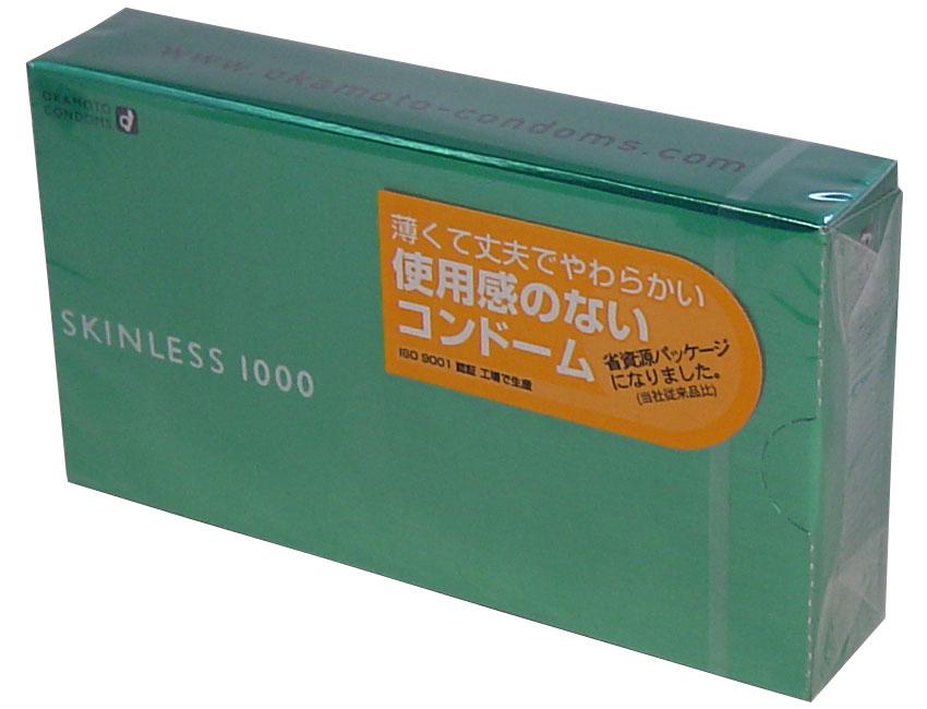 【送料無料】【スキン特売】オカモト スキンレス1000 12個入り ( コンドーム ) ×144点セット まとめ買い特価!ケース販売 ( 4970520231016 )