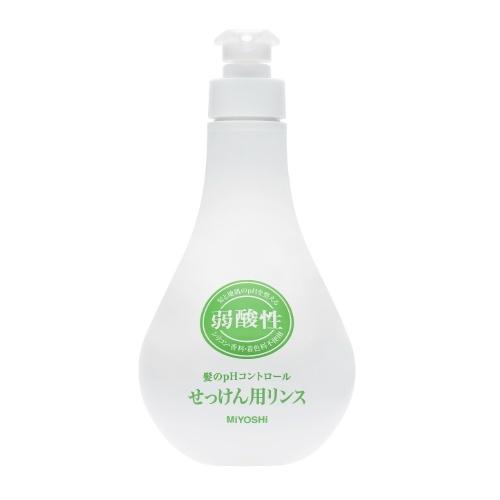 手数料無料 保湿剤配合で髪がしっとり 4537130102336 弱酸性 お得なキャンペーンを実施中 リンス せっけん用 500ml