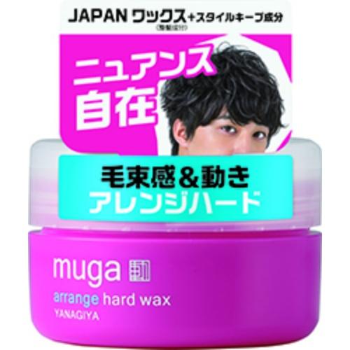 【送料込・まとめ買い×36個セット】MUGA アレンジ ハードワックス 85g