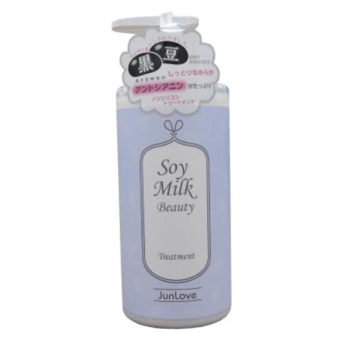 【送料無料・まとめ買い×18個セット】Soy Milk Beauty ノンシリコントリートメント 490ml