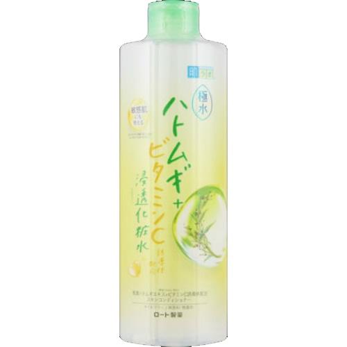 【送料無料・まとめ買い×24個セット】肌ラボ 極水ハトムギ + 浸透化粧水 400ml