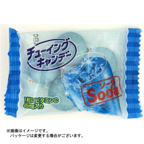 【まとめ買い×20個セット】明治 チューイング キャンデー ソーダ 5粒入×1袋×20点セット(4902744019088)