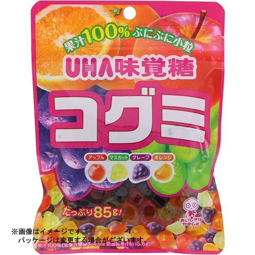 【送料込・まとめ買い×80個セット】ユーハ味覚糖 コグミ 85g