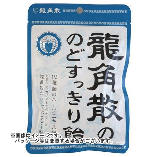【送料無料・まとめ買い×48個セット】龍角散 龍角散ののどすっきり飴 袋 89g