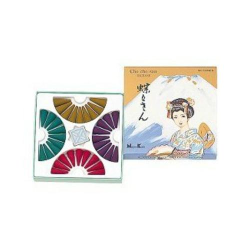 【送料込・まとめ買い×180個セット】日本香堂 蝶々さん 36個入