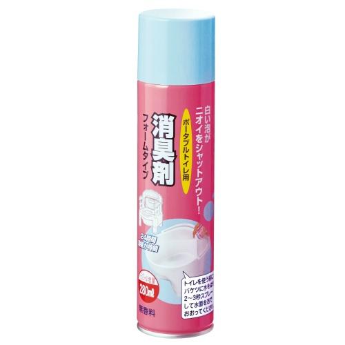 消臭成分と泡の膜でニオイ をシャットアウト キャンペーンもお見逃しなく 4970210040430 売店 送料込 アロン化成 消臭剤フォームタイプ 280mL まとめ買い×4個セット