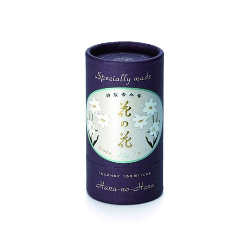 【送料込・まとめ買い×108個セット】日本香堂 特製 花の花 ゆり スティック 150本入