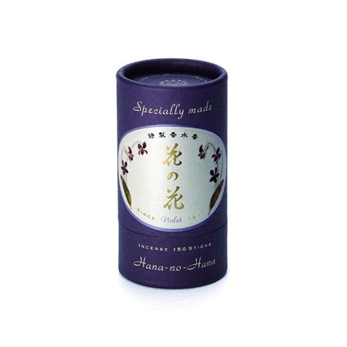 【送料込・まとめ買い×108個セット】日本香堂 特製 花の花 すみれ スティック 150本入
