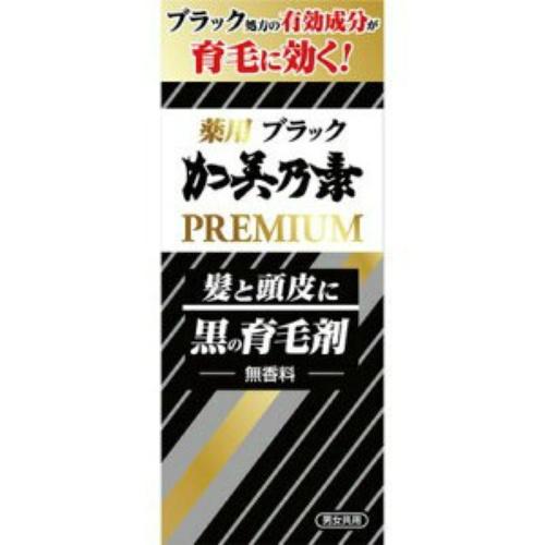 【まとめ買い×5個セット】加美乃素本舗 ブラック加美乃素 プレミアム 180ml