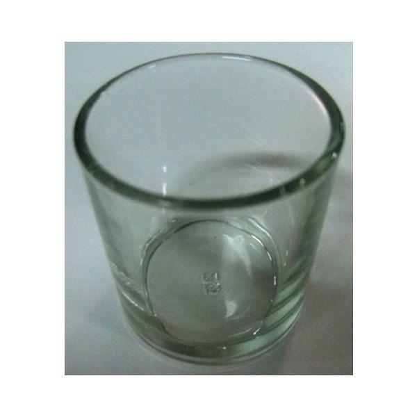 【144個で送料込】カメヤマ ボーティブ ガラスコップ 大 ×144点セット ( 4901435783338 )
