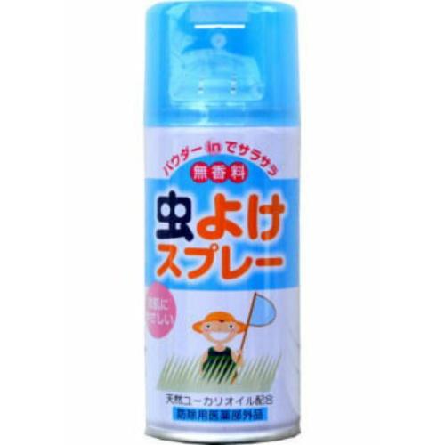 購買 パウダーINでお肌サラサラ 4900480108226 令和 早い者勝ちセール ライオンケミカル 無香料 日本未発売 虫よけスプレー 180ml LT