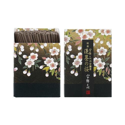 【送料込・まとめ買い×60個セット】日本香堂 宇野千代のお線香 特撰淡墨の桜 ミニ