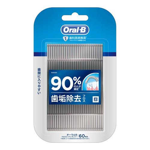 90%の人が満足。歯垢除去 4902430917834  PG オーラルB フロスピック ディープクリーン 60本入
