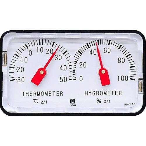 【送料込・まとめ買い×40個セット】クレセル 精密温湿度計 HD-120