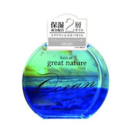 【送料込・まとめ買い×72個セット】紀陽除虫菊 BATH OF GREAT NATURE OCEAN アトランティックオーシャンの香り 150ml