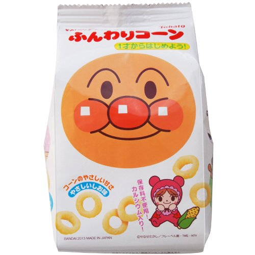East pigeon it don't! Anpanman soft corn and gentle salt taste 25 g x 12 pieces set (kids, candy and food) (4543112881748) * shelf life expiration date 2017.5 lasts