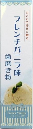 【送料無料・まとめ買い×048】三和通商 フレーバー歯磨き粉 フレンチバニラ味  内容量:70G   ×048点セット(4543268079563)