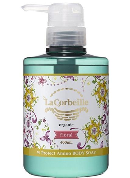 【送料無料・まとめ買い×10】井関産業 La Corbeille ラ コルベイユ  W プロテクト A ボディソープ 400ml フローラルの香り 本体×10点セット(4582426011090)
