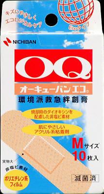 【送料無料・まとめ買い×200】オーキューバン エコ Mサイズ 10枚 OQE10M ×200点セット(4987167040185)