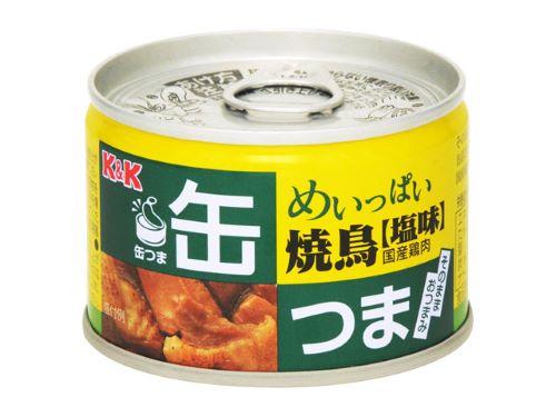 KK罐摘,充满的烤鸡肉串盐135g(4901592891365)