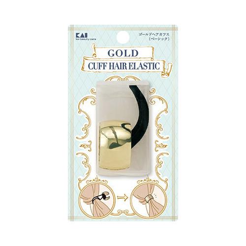【ケース販売 送料無料】 HA3070 ゴールドヘアカフス ( ベーシック ) ヘアアクセサリー×240個セット (4901601300826)