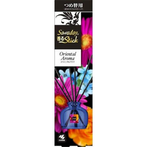 【送料無料・まとめ買い×070】小林製薬 サワデー SAWADAY 香るSTICK つめ替用 オリエンタルアロマ 50ml ×070点セット(4987072047651)