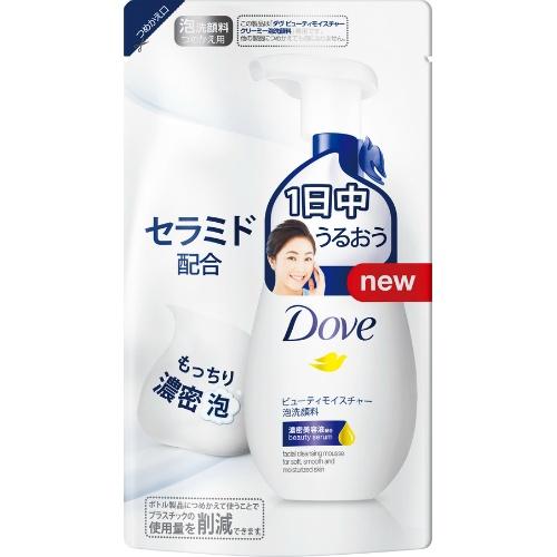 【24個で送料無料】ユニリーバ ダヴ ビューティモイスチャー クリーミー泡洗顔料 つめかえ用 140ml ×24点セット ( 4902111736907 )